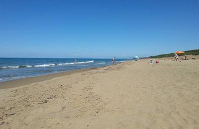 Spiaggia Toscana mare