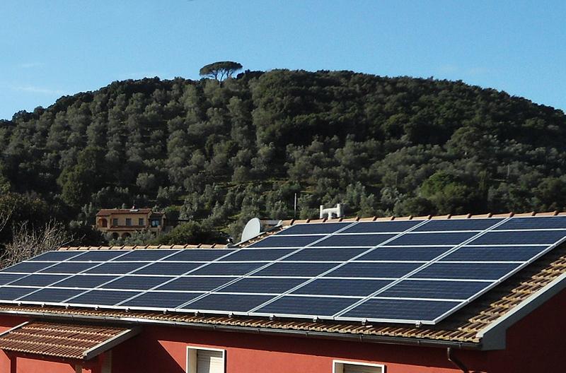 Impianto fotovoltaico in Agriturismo